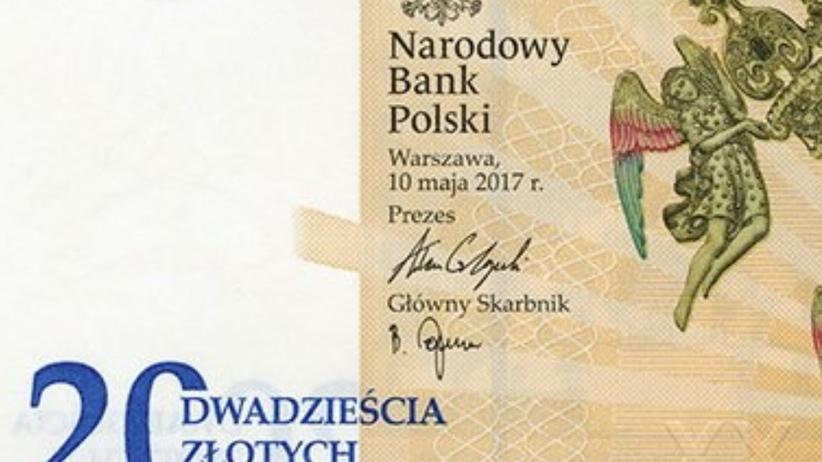 NBP wypuścił nowy banknot 20 zł. Można nim płacić od 21 sierpnia 2017 r.