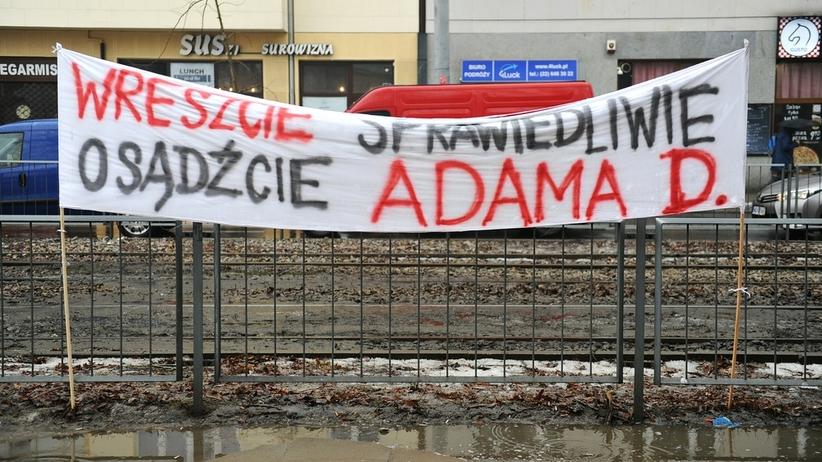 Pikieta przez Prokuraturą Krajową w sprawie Adama Dudały