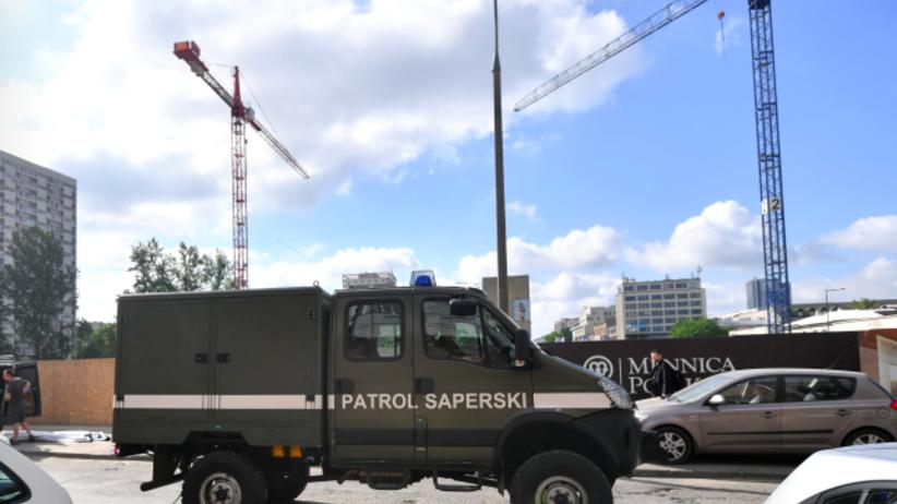300-kilogramowy niewybuch na budowie na warszawskiej Woli