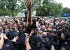 Reforma sądownictwa i SN, Protesty przed Sejmem