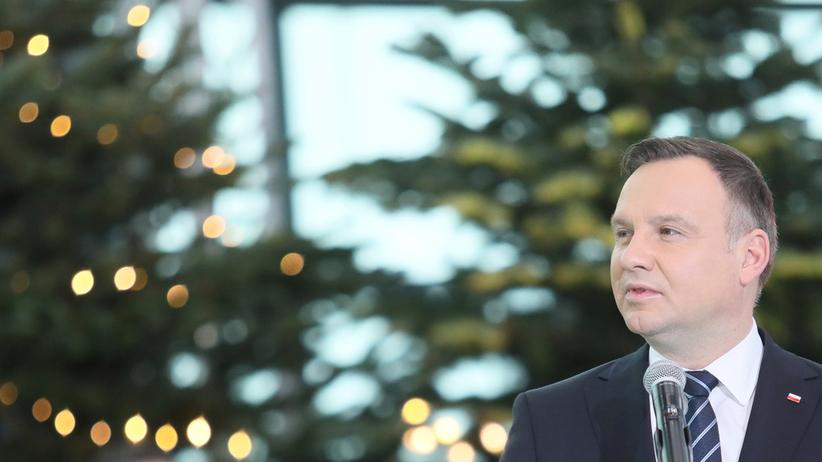 Prezydent Andrzej Duda w noworocznym orędziu [WIDEO]