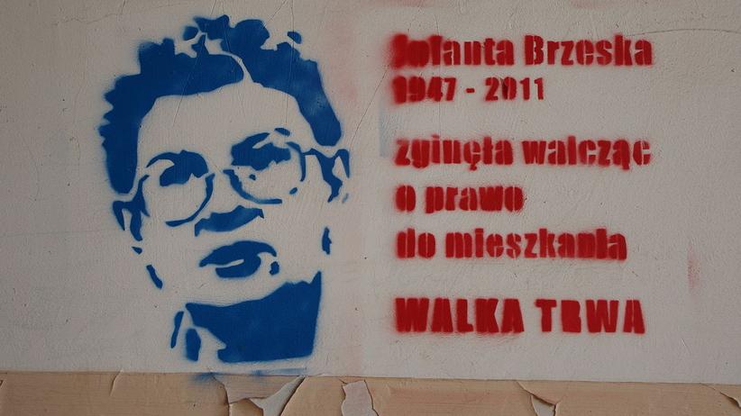 Rocznica śmierci Jolanty Brzeskiej. Jest symbolem dzikiej reprywatyzacji