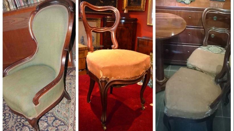 Odnaleziono XIX-wieczne meble z Łazienek Królewskich. Rosjanie zawłaszczyli je podczas I wojny światowej
