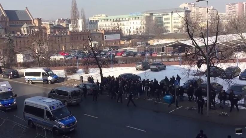 Zamieszki przed meczem Ajax-Legia