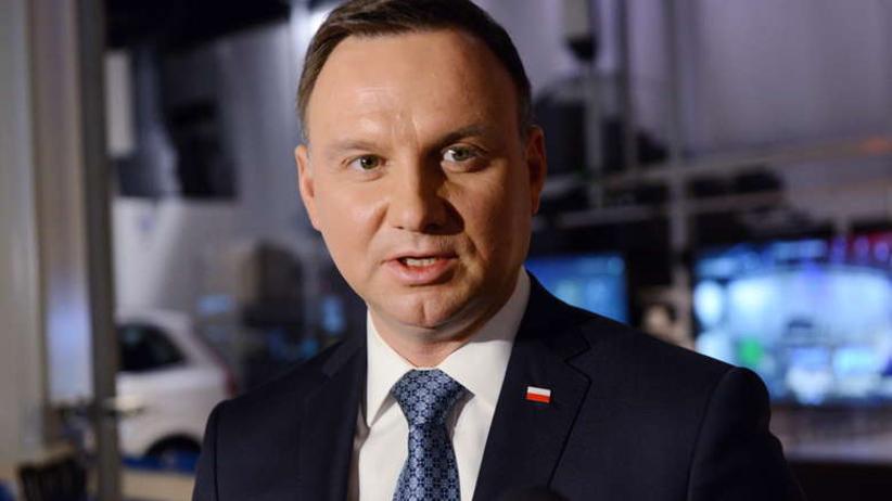 Andrzej Duda oddał hołd zabitemu antyterroryście