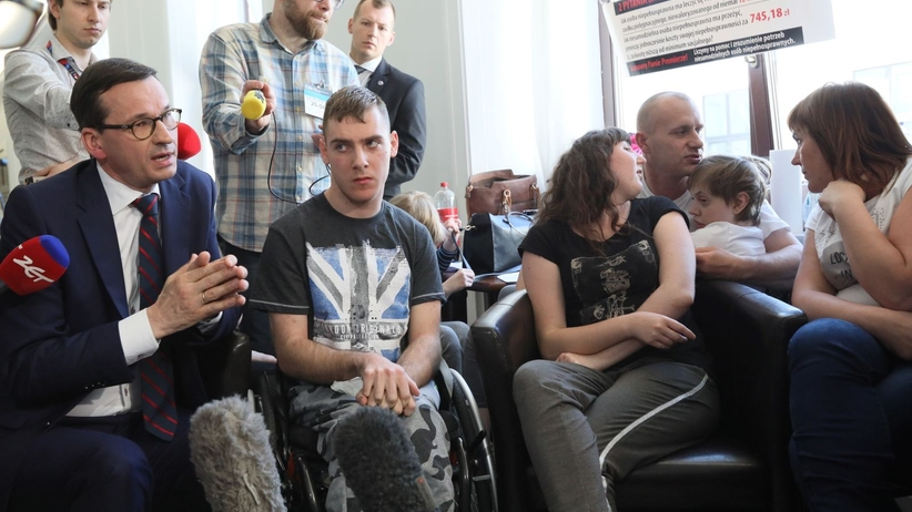 Opiekunowie osób niepełnosprawnych poprosili o spotkanie z prezydentem