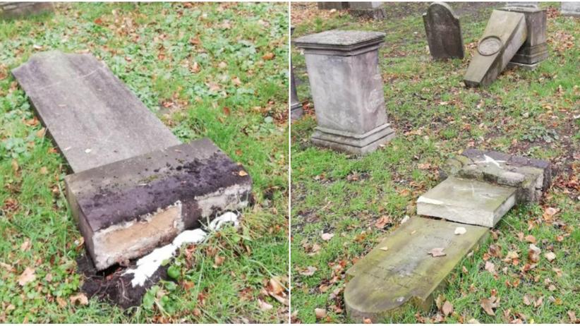 Opole. Dewastacja 15 nagrobków na cmentarzu żydowskim. Są zatrzymani