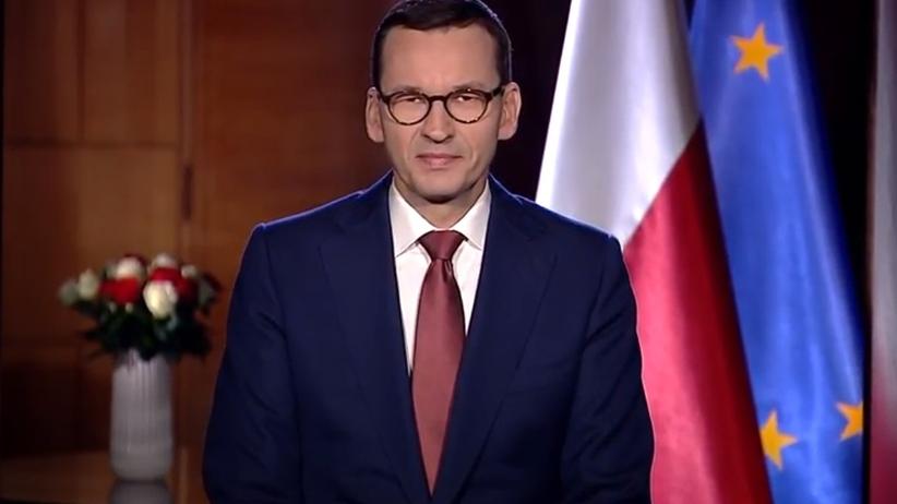 Orędzie Morawieckiego: Jesteśmy jednym z najbardziej proeuropejskich narodów