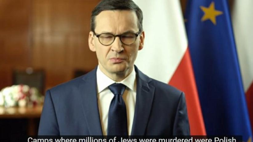 Skandaliczny błąd w orędziu Morawieckiego. YouTube przeprasza