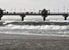 Ostrzeżenia IMGW dla 11 województw. Śnieg, silny wiatr i podniesiony poziom morza