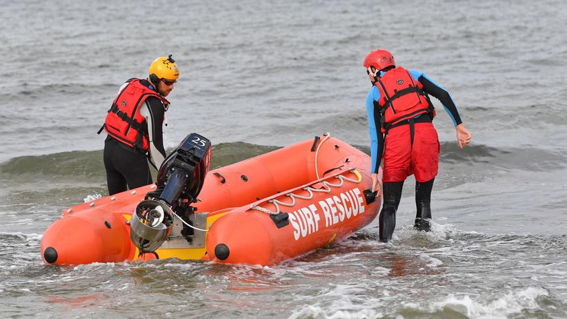 Oświadczenie ratowników z Darłówka po utonięciu 3 nastolatków