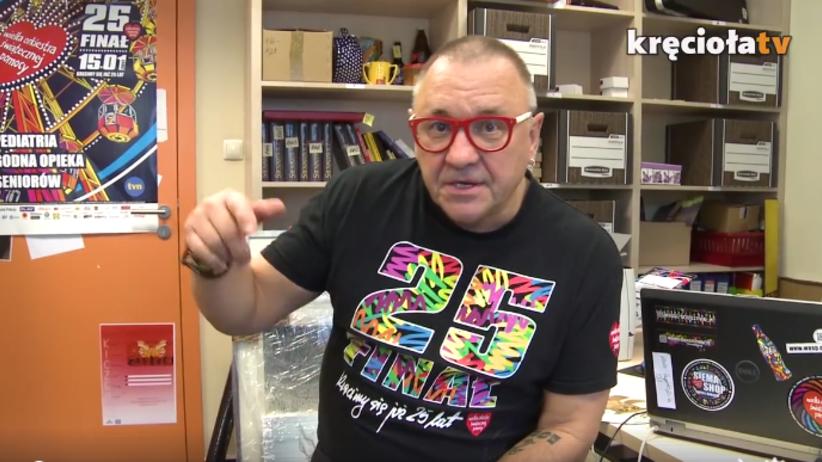 Jurek Owsiak nagrał film dla Tomasza Golloba [WIDEO]