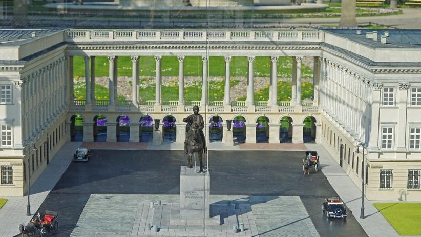 Pałac Saski. Prezydent Duda zapowiada jego odbudowę w Warszawie
