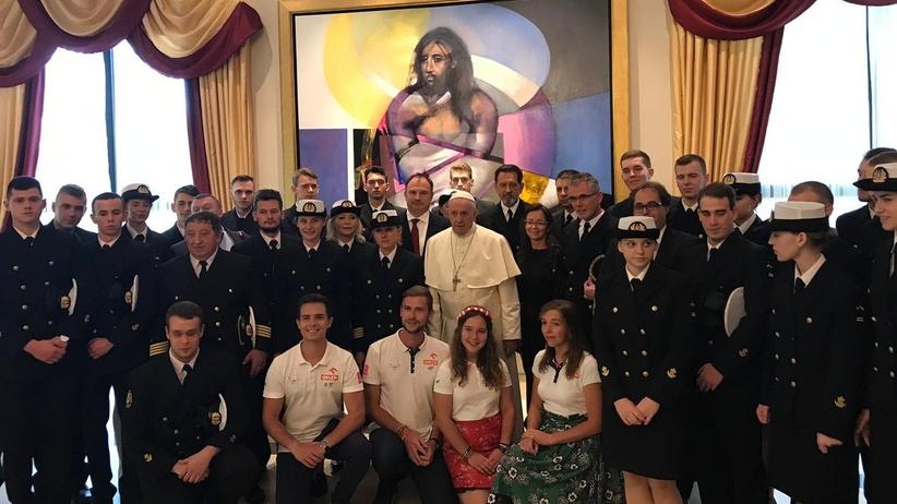 Papież Franciszek przyjął uczestników Rejsu Niepodległości