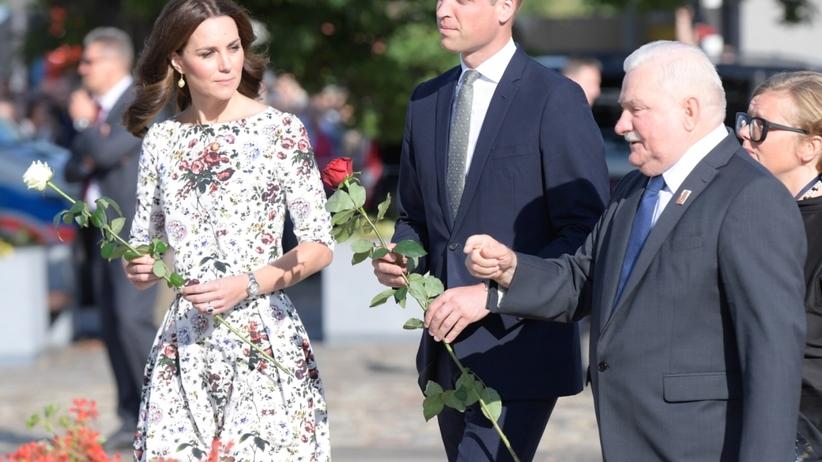 Lech Wałęsa i para książęca
