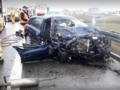 Tragedia na A1. Kierowca jechał pod prąd. Nie żyje pasażerka