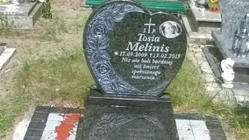 Piąty raz zniszczono grób dziecka. Matka: nie mam już siły