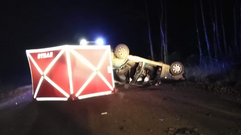 Pijany kierowca dachował. Zginęła 25-letnia pasażerka