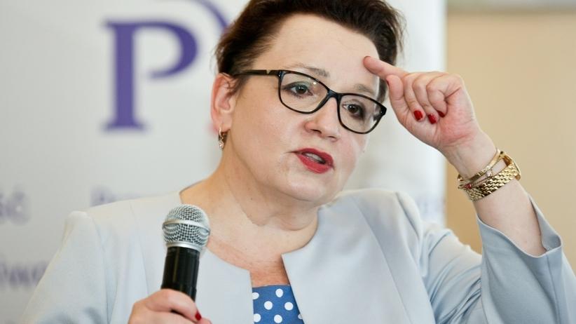 Piotr Duda: Jesteśmy za odwołaniem minister Anny Zalewskiej
