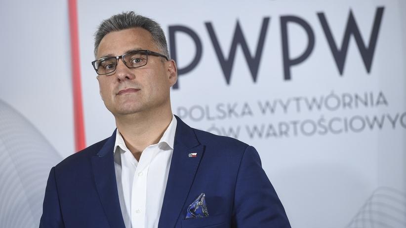 Piotr Woyciechowski odwołany z funkcji prezesa PWPW