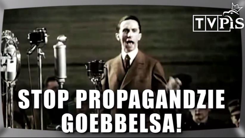TVP jak Goebbels? Platforma opublikowała kontrowersyjny spot [WIDEO]