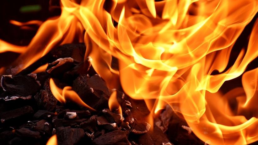 Podkarpacie. Mężczyzna spłonął w ognisku, trwa śledztwo