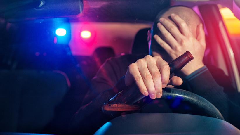 Podlaskie. Policjant po służbie jechał pod wpływem alkoholu