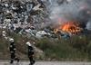 Podlaskie. Pożar wysypiska odpadów w Studziankach