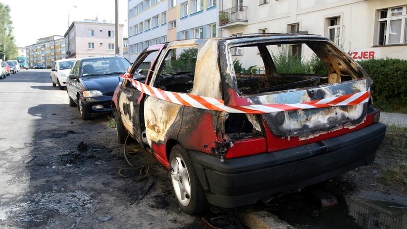 Podpalacz z poznańskiego Grunwaldu podpalał samochody