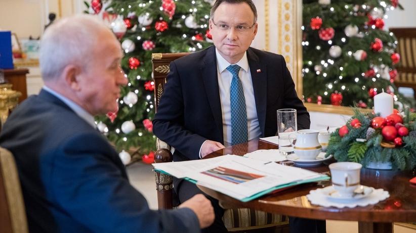 Podwyżki cen prądu. Prezydent Andrzej Duda spotkał się ministrem energii