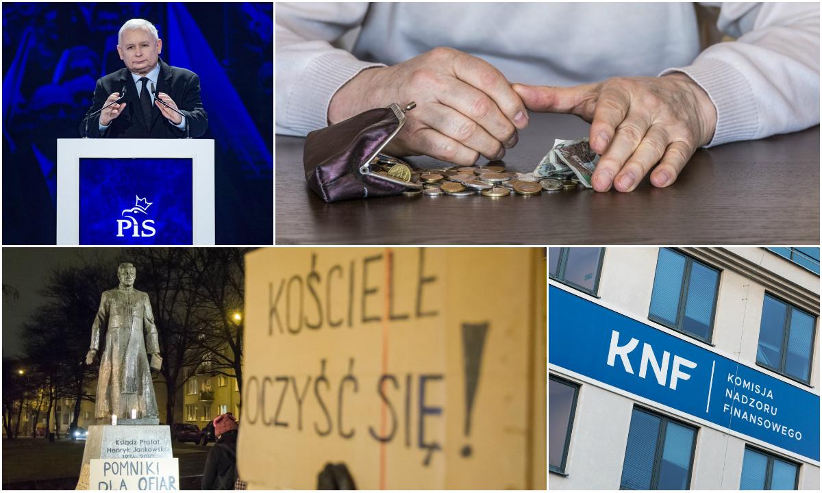 Spodziewane wydarzenia 2019 w Polsce. Wybory, afera KNF, pedofilia w Kościele