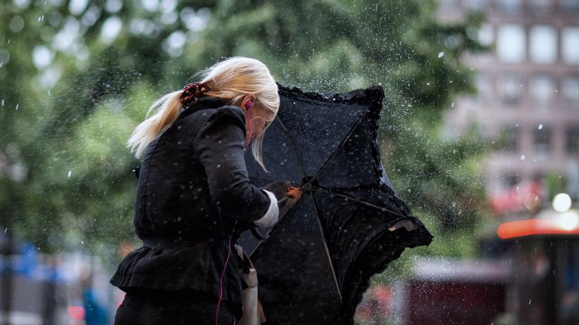 Pogoda na środę: silny wiatr i sporo deszczu