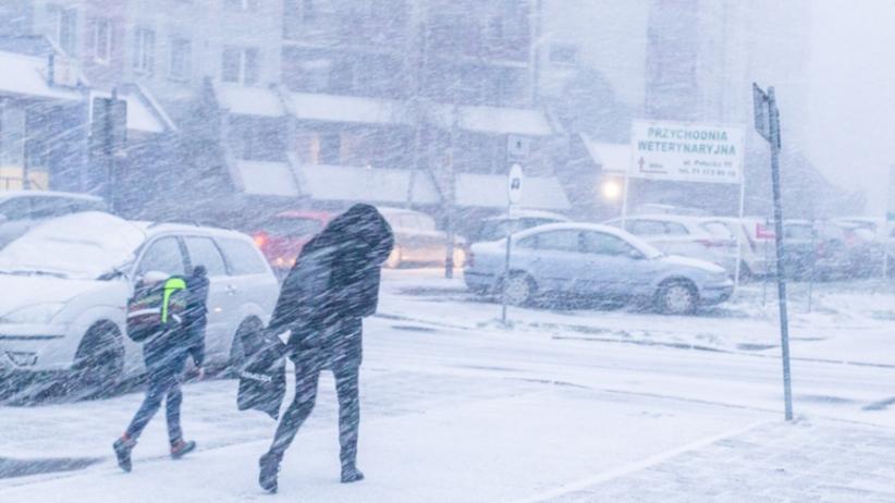 Załamanie pogody. Spadnie nawet 20 cm śniegu. Ciepło tylko na wschodzie