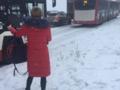 Atak zimy na Śląsku. Autobusy i tramwaje opóźnione o kilkadziesiąt minut