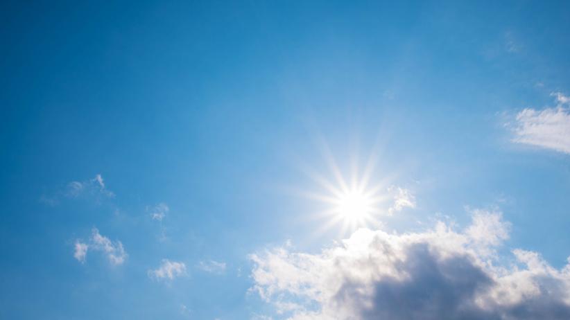 Pogoda. Ciepła i słoneczna niedziela