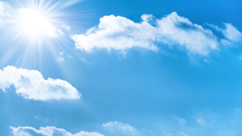 Pogoda. Dużo słońca. Na termometrach nawet do 27 st. C