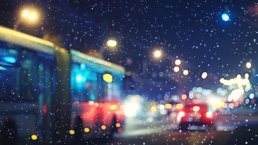 Pogoda. Opady i porywisty wiatr