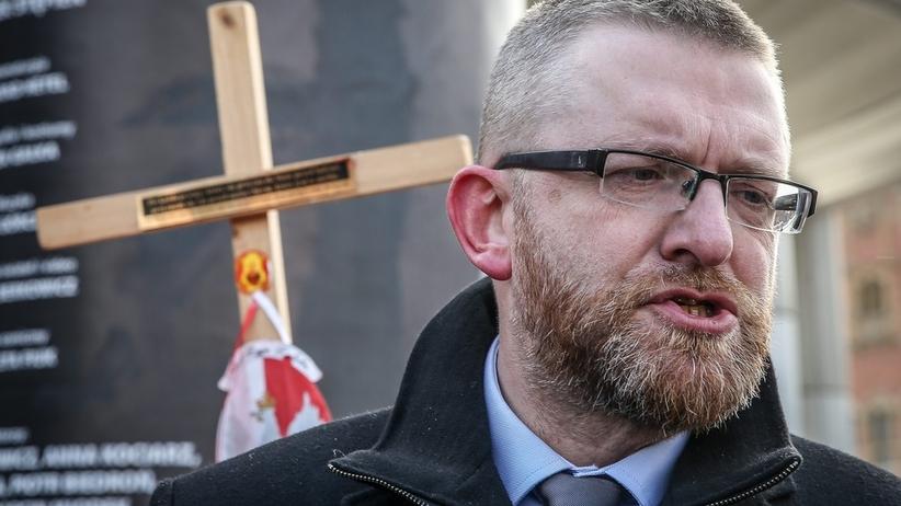 """Grzegorz Braun chce karać za homoseksualizm. """"Biedroń powinien trafić do więzienia"""""""