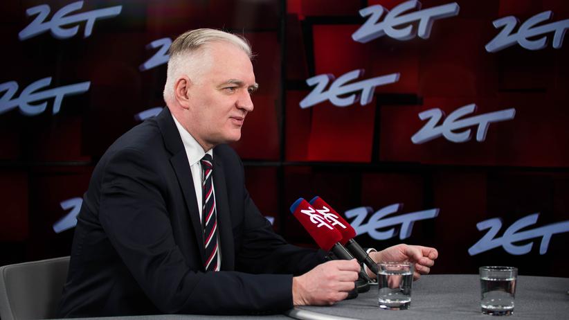 Jarosław Gowin w Radiu ZET: Rząd jest jak grupa komandosów zrzucona na akcję. Jeden drugiego ciężary nosi