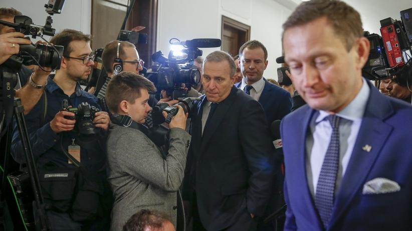 Zgrzyt w Koalicji Europejskiej. Schetyna zbeształ Rabieja
