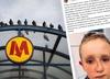 Złamał nos 6-latkowi w Metrze