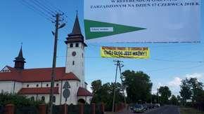 Referendum w gminie Baranów. Mieszkańcy głosowali, czy chcą wielkie lotnisko u siebie