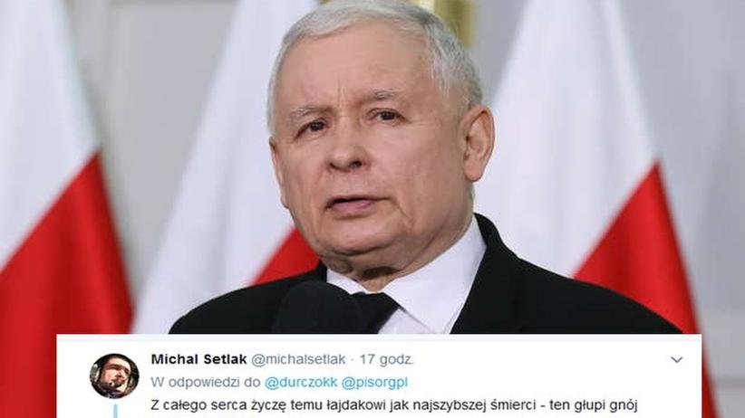 Ekspert smoleński życzył śmierci Kaczyńskiemu. Poseł PiS zawiadamia prokuraturę