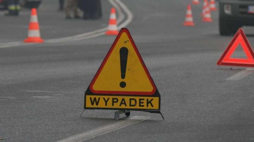 Poważna kraksa w Warszawie. Cztery ciężarówki zderzyły się na S8