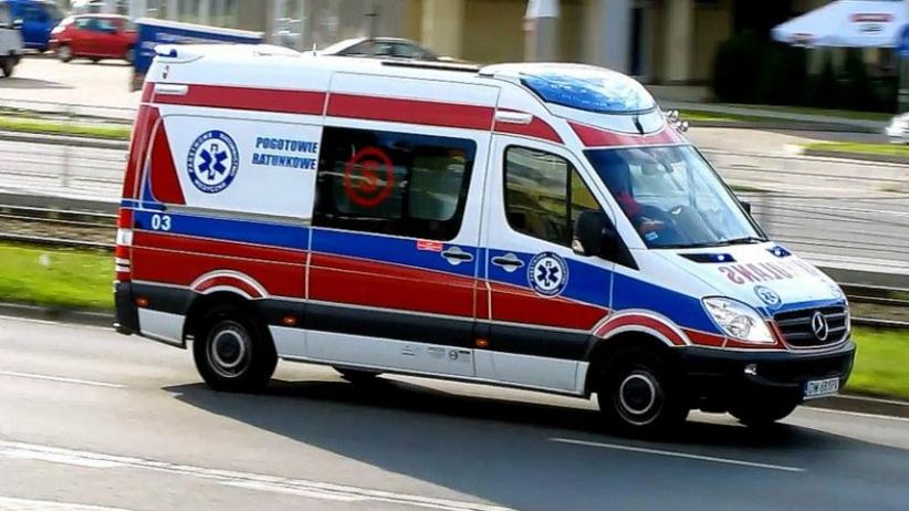 Autobus przewożący osoby niepełnosprawne wpadł do rowu