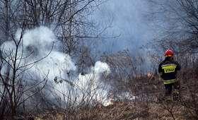 Tragiczne skutki pożaru. Nie żyje mężczyzna