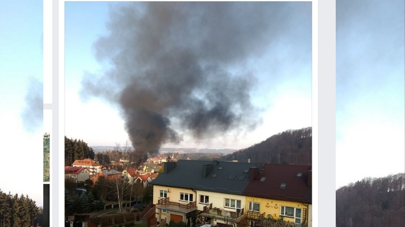 Pożar hotelu