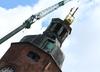 Pożar katedry w Gorzowie: Rozbiórka spalonego dachu [ZDJĘCIA]