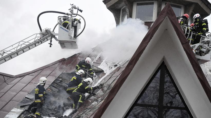 Płonie kościół św. Andrzeja Boboli w Łodzi. Trwa akcja gaśnicza