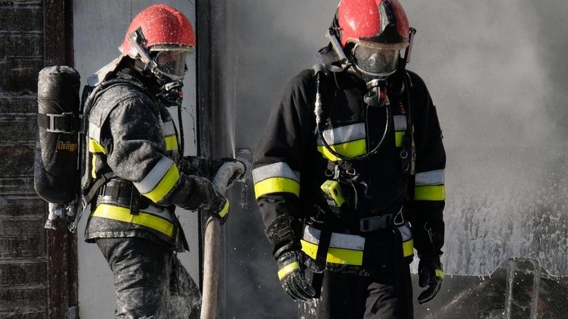 Pożar budynku wielorodzinnego. Znaleziono zwłoki kobiety